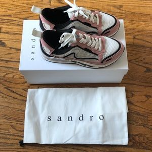 Sandro Flame Sneakers